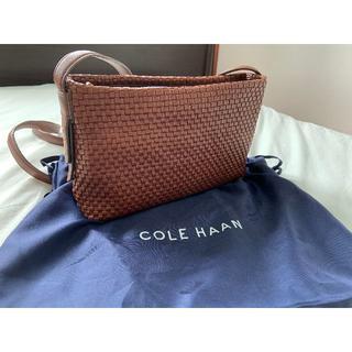 コールハーン(Cole Haan)のCOLE HAAN ショルダーバッグ ブラウン(ショルダーバッグ)