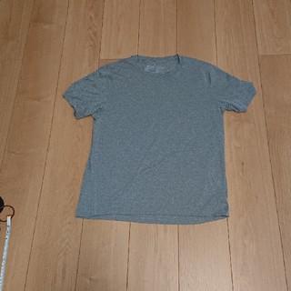 ムジルシリョウヒン(MUJI (無印良品))の無印良品  速乾吸乾 Tシャツ グレー(Tシャツ/カットソー(半袖/袖なし))