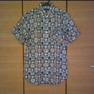 ユナイテッドアローズ(UNITED ARROWS)のUNITED ARROWS メンズ 半袖チェックシャツ Mサイズ (シャツ)