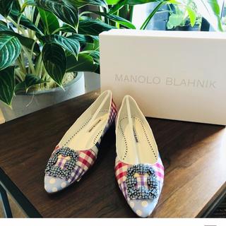 MANOLO BLAHNIK - マノロブラニク ハンギシ ハンギシフラット manoloblanik