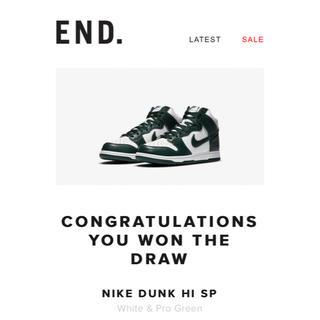 NIKE - Nike Dunk Hi SP ProGreen