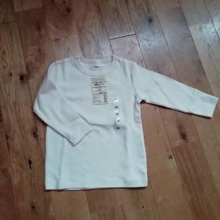 ムジルシリョウヒン(MUJI (無印良品))の無印良品 ベビー長袖Tシャツ 未使用品(Tシャツ/カットソー)