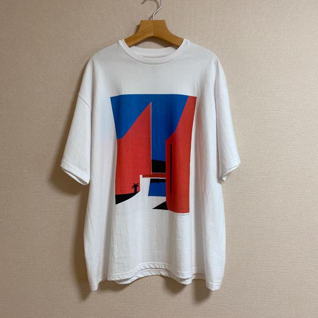 COMOLI(コモリ)のGraphpaper × 永井博 半袖Tシャツ メンズのトップス(Tシャツ/カットソー(半袖/袖なし))の商品写真