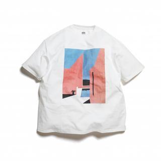 COMOLI - Graphpaper × 永井博 半袖Tシャツ