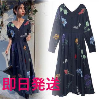 アメリヴィンテージ(Ameri VINTAGE)のAmeri Vintage☆Sサイズ☆2WAY AMANDA DRESS(ロングワンピース/マキシワンピース)