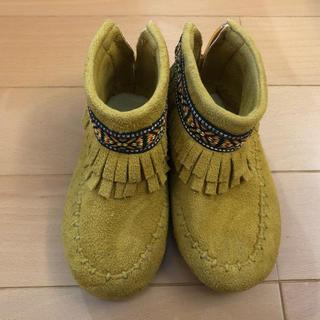 アンパサンド(ampersand)の美品 ampersand ブーツ(ブーツ)