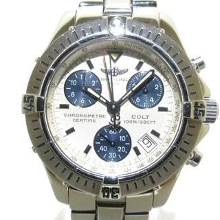 BREITLING - ブライトリング 腕時計 A73350 メンズ 白
