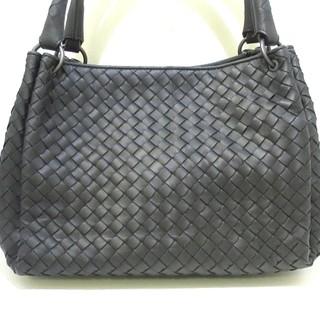 ボッテガヴェネタ(Bottega Veneta)のボッテガヴェネタ ハンドバッグ美品  黒(ハンドバッグ)