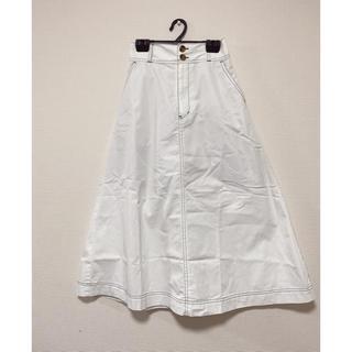 ウィゴー(WEGO)のチノサーキュラーミモレスカート(ロングスカート)