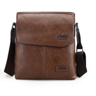 ジープ(Jeep)のJEEPショルダーバッグ・ボシェット PUレザー メンズバック(ショルダーバッグ)