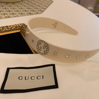 Gucci - GUCCI グッチ カチューシャ  新作 新品 未使用