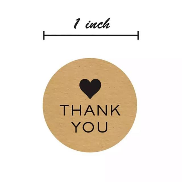 thank youシール サンキューシール ラッピング 結婚式 ハンドメイドのウェディング(その他)の商品写真