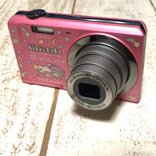 カシオ(CASIO)のCASIO EXILIM EX-ZS6 キキララデザインカメラ(コンパクトデジタルカメラ)