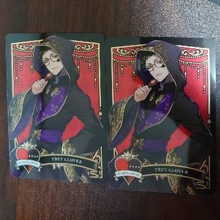 ディズニー(Disney)のツイステ トレイ メタルカード2 2枚セット(その他)