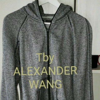 T by Alexander Wang パーカー 霜降りグレー