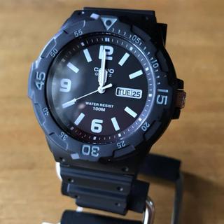 カシオ(CASIO)の【新品】カシオ CASIO ダイバールック 腕時計 MRW-200H-1B2(腕時計(アナログ))