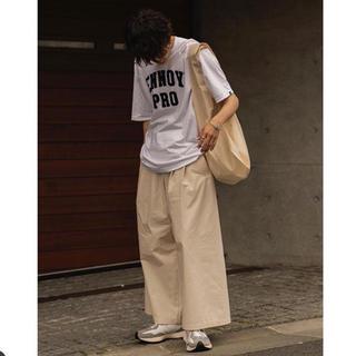 CLASSC BIG PANTS ECRU ryo takashima