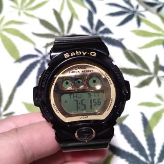 ベビージー(Baby-G)のCASIO Baby-G bg-6901 ジーショック ブラック×ゴールド(腕時計)