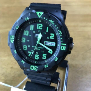 カシオ(CASIO)の【新品】カシオ CASIO ダイバールック 腕時計 MRW-200H-3B(腕時計(アナログ))