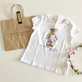 Ralph Lauren - 新品♡ラルフローレン♡ポロベア ベア 18M 85/Tシャツ シャツ くま