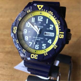 カシオ(CASIO)の【新品】カシオ CASIO 海外モデル 腕時計 MRW-200HC-2B(腕時計(アナログ))