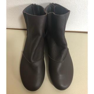 あしながおじさん - 新品未使用 あしながおじさん 日本製 ショートブーツ 23cm 日本製