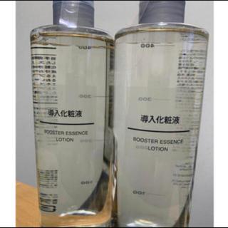 ムジルシリョウヒン(MUJI (無印良品))の無印良品  導入化粧液  2本(ブースター/導入液)