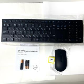 デル(DELL)のDell ワイヤレスキーボード・マウスセット★KM636★ブラック(PC周辺機器)