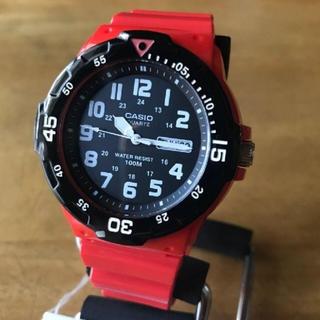 カシオ(CASIO)の【新品】CASIO スポーツ アナログ 腕時計 MRW-200HC-4B(腕時計(アナログ))
