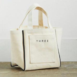 THREE - スリー ノベルティ トートバッグ