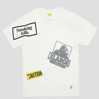 エクストララージ(XLARGE)のXLARGE #FR2 Random Print T-shirt Tシャツ 白(Tシャツ/カットソー(半袖/袖なし))