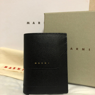 Marni - marni サフィアーノレザー バイフォールドウォレット 二つ折り財布