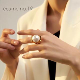 agete - 【no.19】ゴージャスパールリング