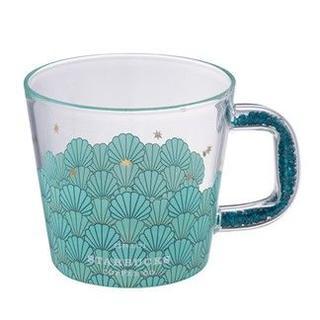 Starbucks Coffee - スターバックス:グラスマグ 貝殻 台湾 アニバーサリー