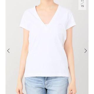 マディソンブルー(MADISONBLUE)の【新品未使用】MADISONBLUE ディープVネックTシャツ(Tシャツ(半袖/袖なし))