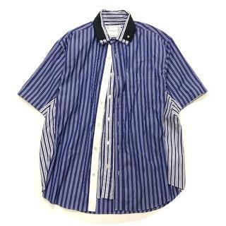 sacai - 美品 20SS sacai short sleeve poplin shirt