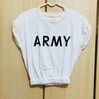 ウィゴー(WEGO)のARMY プリント Tシャツ(Tシャツ(半袖/袖なし))