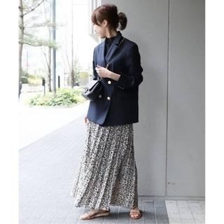ノーブル(Noble)の11日までお値下げ☆Noble ニュアンスプリーツマキシスカート (ロングスカート)
