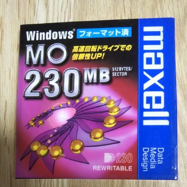 maxell(マクセル)のMOディスク 230MB maxell スマホ/家電/カメラのPC/タブレット(PC周辺機器)の商品写真