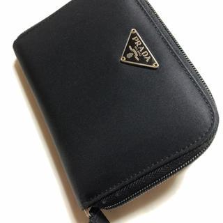 PRADA - PRADA・二つ折り財布・ブラック・本物鑑定済(中古品)・少しお値引き可能です!