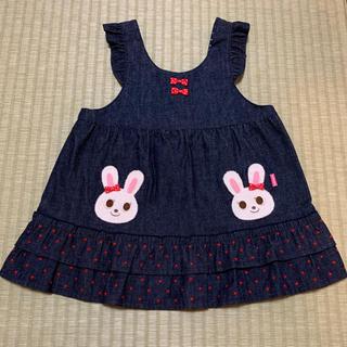 ミキハウス(mikihouse)のミキハウス★ジャンパースカート★(ワンピース)
