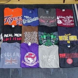 オールドネイビー(Old Navy)の【古着】Tシャツ まとめ売り12枚(Tシャツ/カットソー(半袖/袖なし))