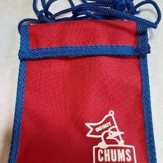 チャムス(CHUMS)のパスケース サコッシュ(名刺入れ/定期入れ)