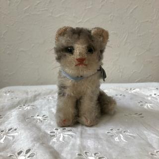 リサラーソン(Lisa Larson)のアンティークシュタイフ☆ネコのsusi cat(ぬいぐるみ)