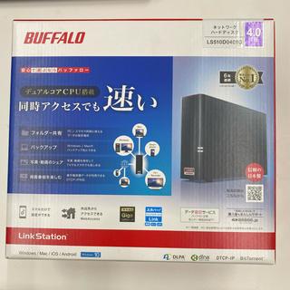 バッファロー(Buffalo)のBUFFALO  NAS HDD 4TB LS510D0401G 新品未開封(PC周辺機器)