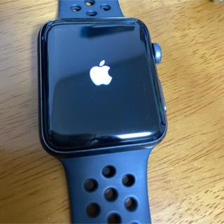 Apple Watch - Apple Watch series3 42mm NIKEモデル 値下げ!!!