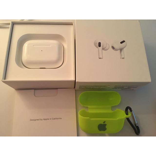 Apple(アップル)のAirPods Proリリ様専用 スマホ/家電/カメラのオーディオ機器(ヘッドフォン/イヤフォン)の商品写真