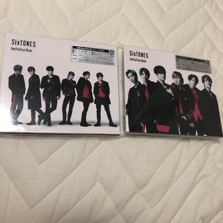 ジャニーズ(Johnny's)のSixTONES Imitation CD 2点セット(ポップス/ロック(邦楽))