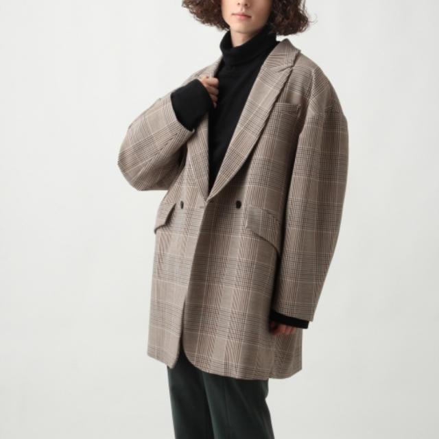 HARE(ハレ)のhare ダブルブレストテーラード メンズのジャケット/アウター(テーラードジャケット)の商品写真