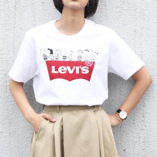 リーバイス(Levi's)の【中古品 美品】Levi's×PEANUTS SNOOPY スヌーピー Tシャツ(Tシャツ(半袖/袖なし))